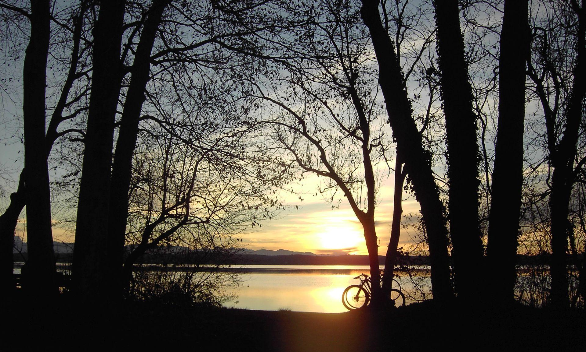 Sonnenuntergang am Starnbergerger See